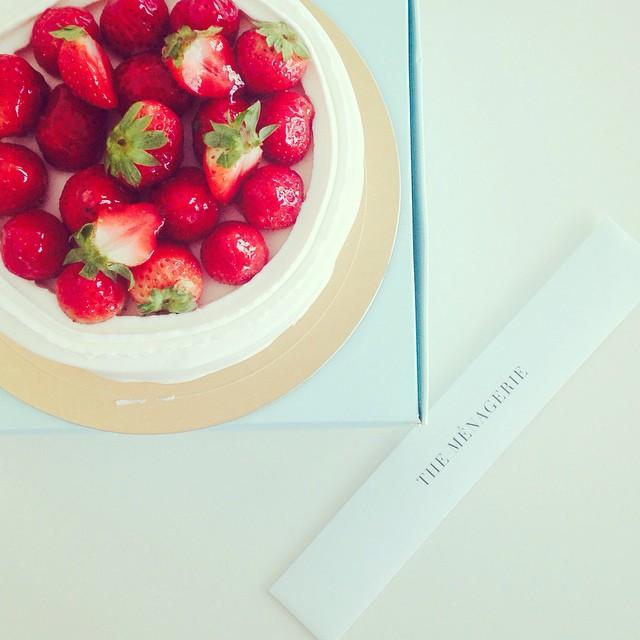 예쁜#딸기#케이크
