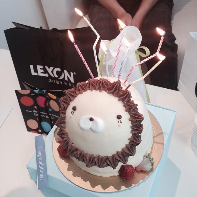 민규씨#생파#귀요미#케이크 와 함께🎉👏