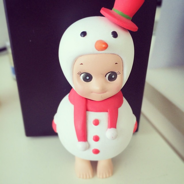 ❤️#현서댈님#쏘니앤젤#랜덤#눈사람#레드#깜찍#snowman#sonnyangel#red#christmas#winter#random#white#cute