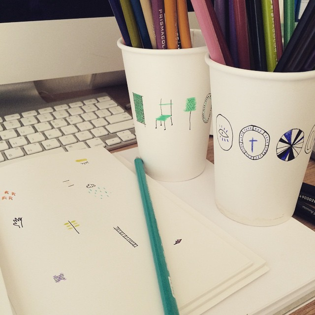 #illust #illustration #일러스트#손그림#낙서#sketch #doodle #drawing#illustagram#cup#JTdesignlife