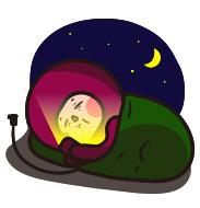 잠자기전 이모티콘