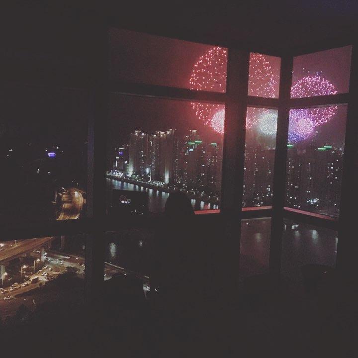 #스튜디오제이티#4주년을 축하하는(?) #부산불꽃축제 #수고했어오늘도 #야근중