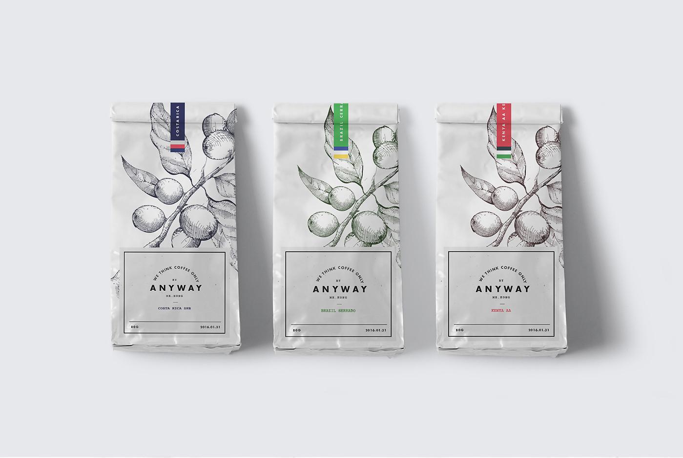 애니웨이 커피 종류