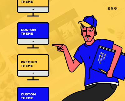 Premium(Premade) theme vs Custom theme