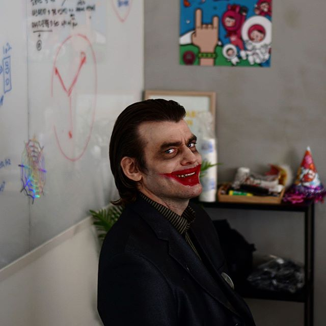 #할로윈 #조커 🎃 – – – 참고로 제이티 개발팀  실장님이십니다. 흐흐….
