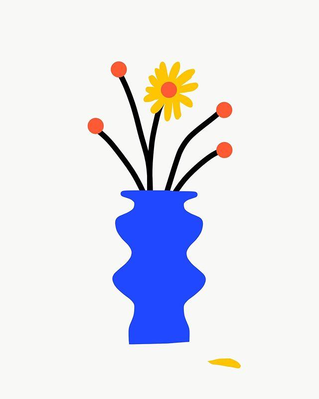 #봄#잠이 안와서 – – – – – – #illustration #illust #design#drowings #drowingart#artwork#artist#webdesigner#webdesignerlife #일러스트#artist#드로잉#부산#웹디자이너#화분#소통#힐링#color#posterdesign#꽃#flower#blue