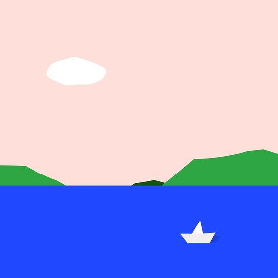 """정다운 on Instagram: """"8년만에 일주일간 나 혼자만의 #휴가 머리좀 털고 올게요🙃 – – – – – – – – #illustration #illust #design#drowings #drowingart #artwork#artist…"""""""