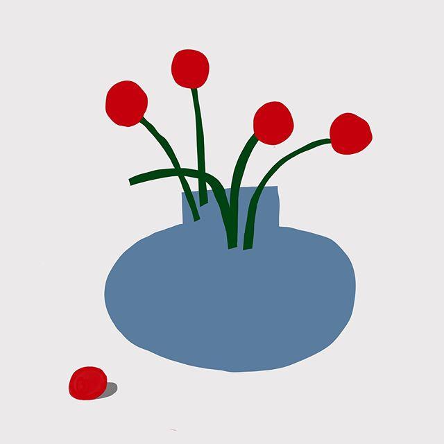 #꽃병 – – – – – – #illustration#illust#design#drowings#drow#drowingart#artwork#artist##art#designer#nature#art#일러스트#flower#아티스트#드로잉#디자인#디자이너#소통#힐링#그림스타그램#jtdesignlife