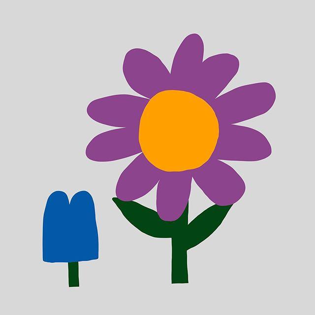 #퇴원했다😭 보라와 파랑도 이쁘네 컬러조합 굳🙂 – – – – – #illustration#illust#design#drowings#drow#drowingart#artwork#artist#woman#webdesigner#webdesignerlife#nature#blue#일러스트#아티스트#드로잉#부산#디자이너#소통#힐링#그림스타그램#jtdesignlife#힘내자