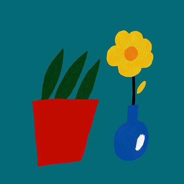 #화분 – – – – – – #illustration#illust#design#drowings#drow#drowingart#artwork#artist#designer#nature#일러스트#아티스트#드로잉#디자이너#소통#힐링#그림스타그램