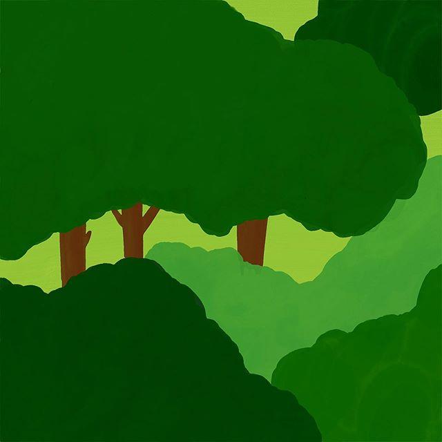 #숲속#수채화 – – – – – – #illustration#illust#design#drowings#drow#drowingart#artwork#artist#designer#nature#일러스트#아티스트#드로잉#디자이너#소통#힐링#그림스타그램
