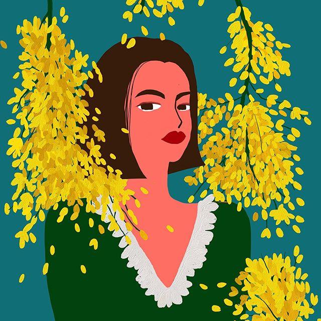 #yellow – – – – – – – #illustration#illust#design#drowings#drow#drowingart#artwork#artist#designer#nature#일러스트#아티스트#드로잉#디자이너#소통#힐링#그림스타그램#kidsdesignlife#illustrateddoris