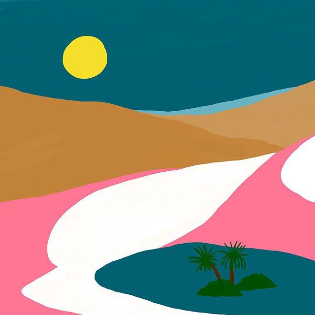 사막과 풀숲